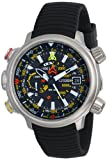 Citizen Men's BN5030-06E Altichron Eco-Drive Titanium Black Rubber Strap Watch