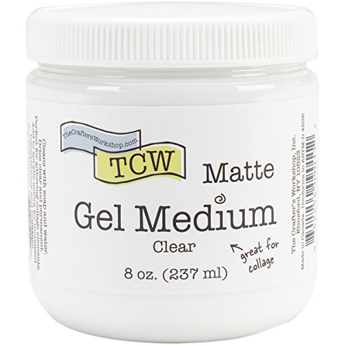 Crafter's Workshop Gel Medium 8Oz-Matte