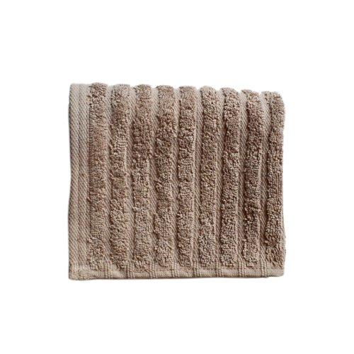 glo Organic Stripe (Mushroom)-Wash (Stripes Washcloth)