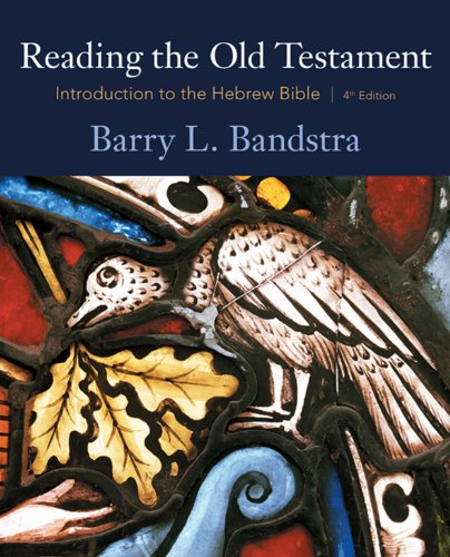 Reading the Old Testament: Introduction to the Hebrew Bible Pdf