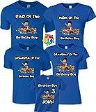 Birthday Boy Birthday Girl Custom Funny Character Birthday Custom Matching Shirts XXLarge Adult Unisex