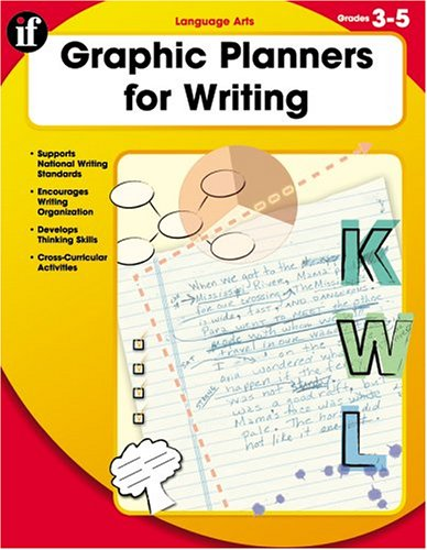 Read Online Graphic Planners for Writing, Grades 3 to 5 pdf epub