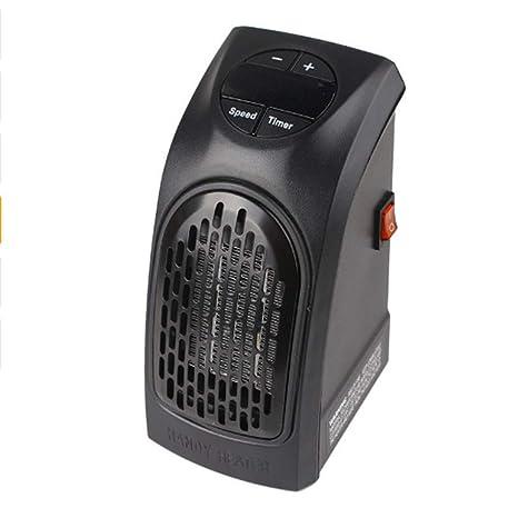 HONGREN Mini Calefactor Portátil Compacto Plug-In Digital Calentador Eléctrico con Pantalla LED (2