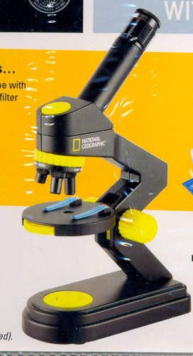 National Geographic Microscope 103-pc. Set With Carrying Case