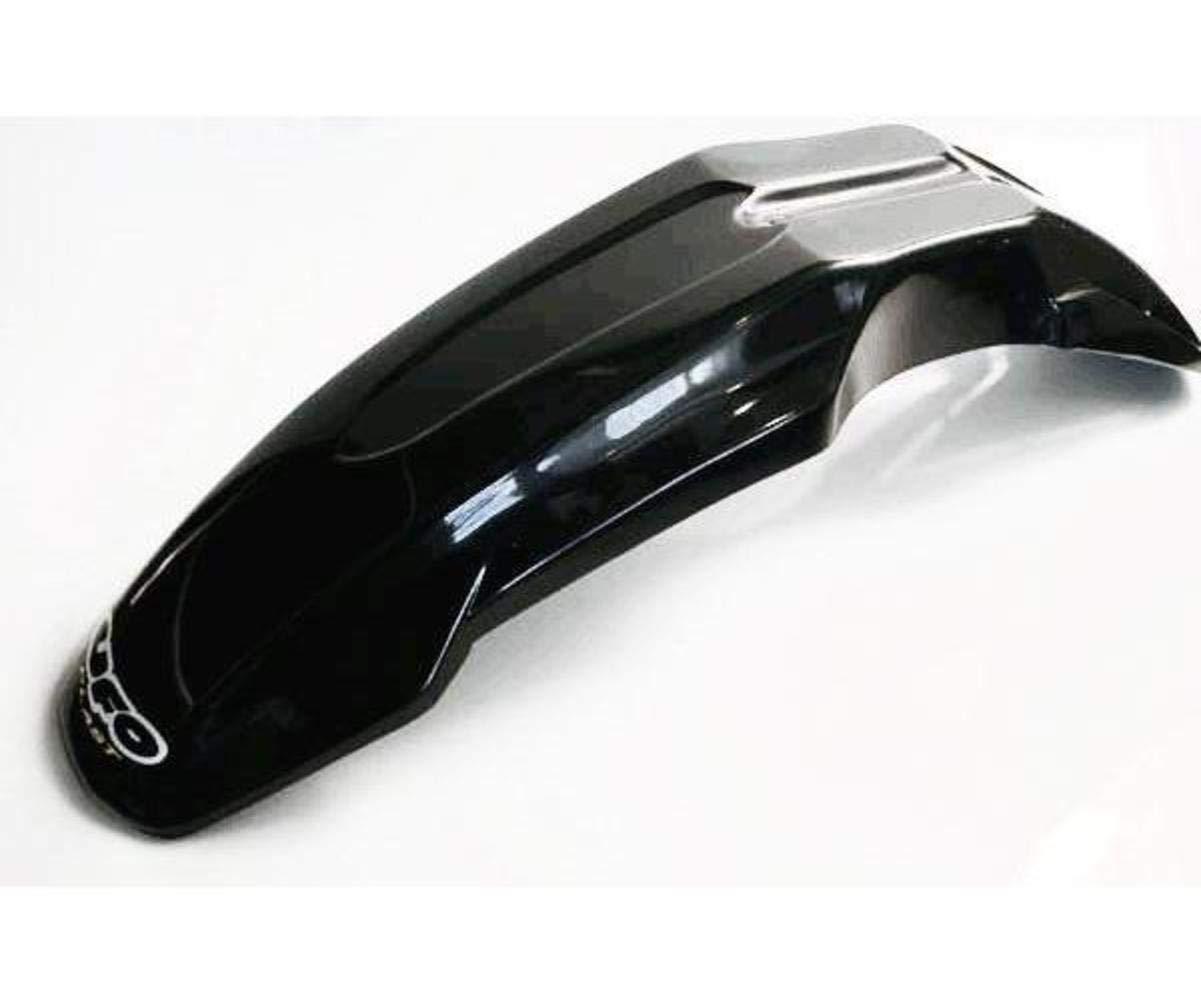 UFO Plastic Universal Supermoto Front Fender White Color: White Design 1