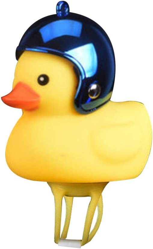 Kids Bicycle Headlight Cool Scooter /& Bike Head Accessories Cartoon Duck Bike Light with Horn for Young Cycling Enthusiasts Surprised Gift for Kids or Girl Cartoon Duck Head Light A