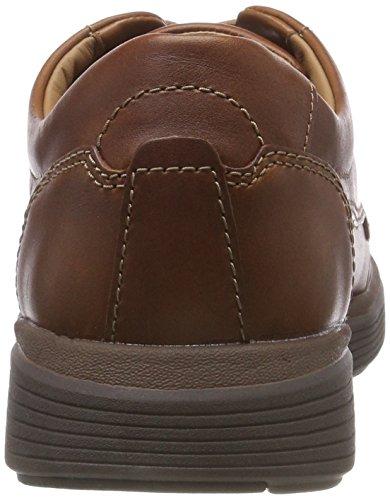 dark Abode De Marrón Ease Derby Zapatos Un Hombre Para Clarks Leather Cordones Tan qvBwff
