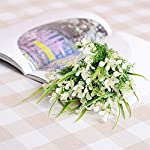 MARJON-Flowers-Artificial-Gladiolus-Flower-Bouquet-Home-Wedding-Countryside-Party-Decor-White