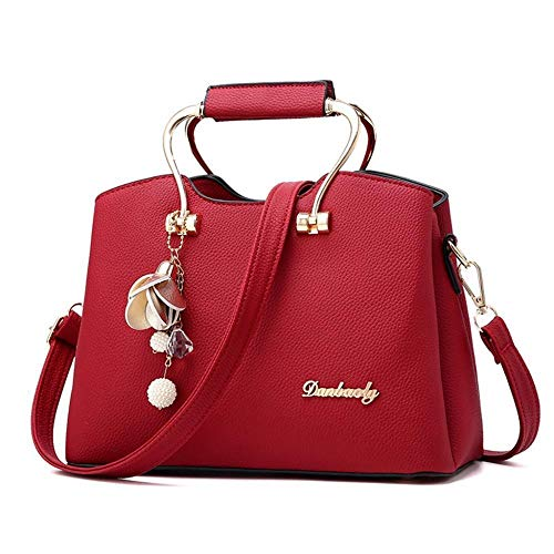 Fashion Un Women Elegante Bags sacchetto rosso Bag tracolla Messenger Cross Kaidila ndSI78xwqq