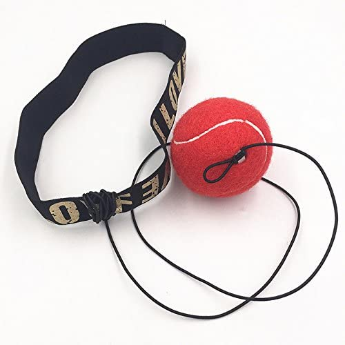 Equipo de Pelota de Combate con Banda para la Cabeza Ejercicios para Entrenamiento de Velocidad Soulitem Boxeo y Deportes de Combate