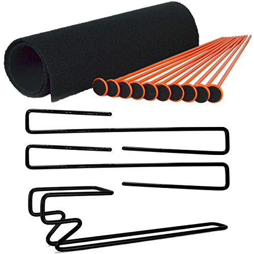 Gun Storage Solutions Rifle Rods, Handgun Hangers, Mag Holder, and Shelf Liner (Rod Coated Shotgun)
