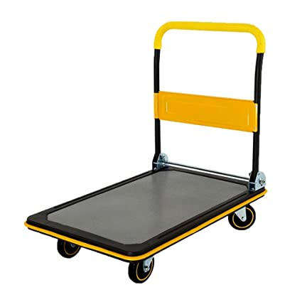 f6dcb565a71d Amazon.com: Hand Trucks Trolley Folding Trolley Tool Cart Sack ...