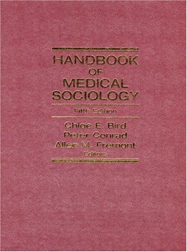 Handbook of Medical Sociology (5th Edition)
