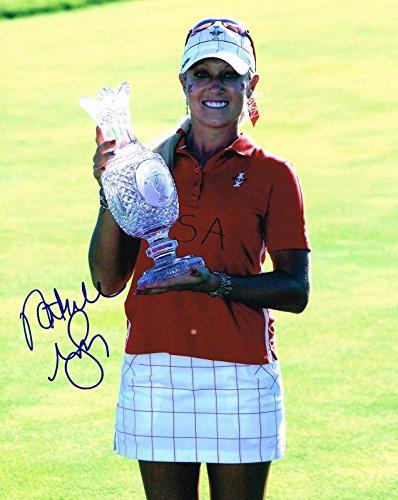 - Natalie Gulbis Signed Photo - 8x10 SOLHEIM CUP TROPHY COA - Autographed Golf Photos