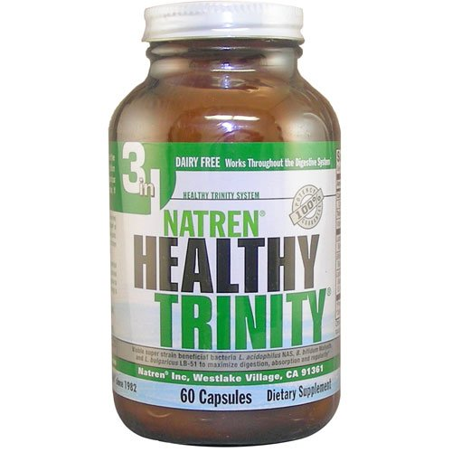 Natren – Healthy Trinity Dairy Free – 60 CAP, My Pet Supplies