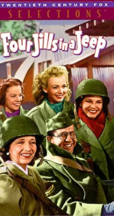 Image result for four jills in a jeep movie