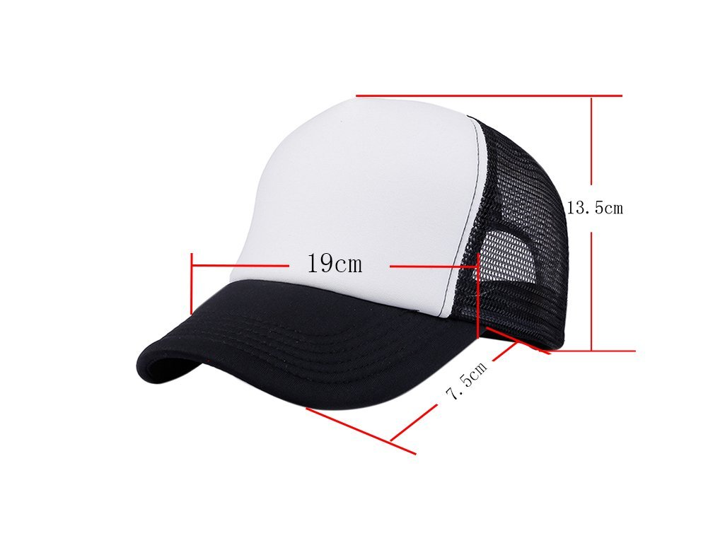 Outflower 1pcs Moda Bicolor Berretto da Baseball Confortevole Traspirante  Mesh cap Summer Visor per Uomini e Donne Nero  Amazon.it  Casa e cucina f44fc7ebcfa1
