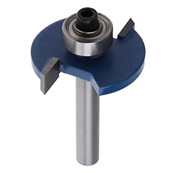 1//4/'/' Shank Biscuit Cutter Router Bit With Bearing Woodworking Hand Tool