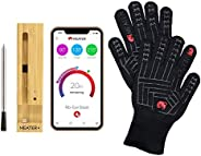 The Grillmaster Bundle | BBQ Mitts with MEATER Plus 165ft Wireless Bluetooth Meat Thermometer