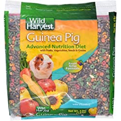 Wild Harvest Super Premium Guinea Pig Blend With Ester C, 4 lb., Pack of 2 (8 lbs Total)