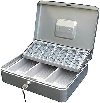 Kippen 10003e Caja caudales con Monedero, Silver, 300 x 240 x 90 ...