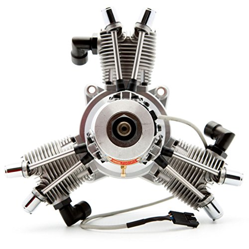 Saito Engines FG-60R3 60cc 3-Cylinder Gas Radial: CA