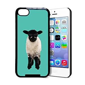 Hipster Rough Fell Lamb iPhone 5c Case - Fits iPhone 5c