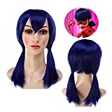 Miraculous Ladybug Suit Cosplay Costumes with Eye Mask Bag Fancy Party Outfits
