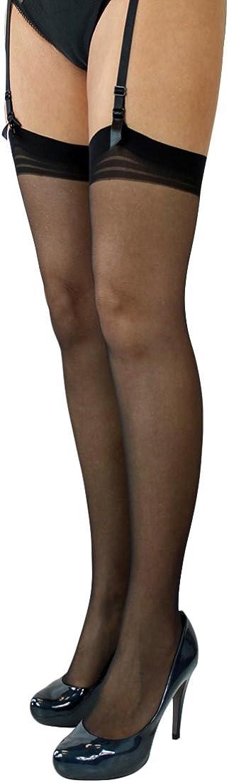 di lusso calze velate extra sottili Fiore cuciture con spessore 20 denari