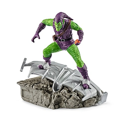 Green Weapons Goblin - Schleich Marvel Green Goblin Diorama Character Action Figure