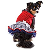 Bond Patriotic Pets Star-Spangled Dog Dress, X-Small