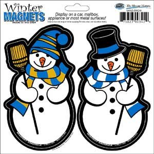 Snowmen 2 in 1 Holiday Magnet