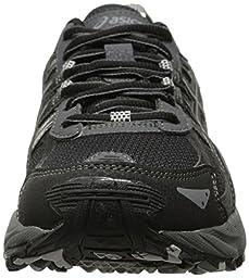 ASICS Gel Venture 5 GS Trail Running Shoe (Little Kid/Big Kid), Black/Onyx/Charcoal, 3.5 M US Big Kid