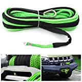 Leash Windlass Towage Wire - 7000lb Nylon Rope Winch Tow Cable Line Sheath Atv Suv Road - Electrical Length Television Service System Transmission Oversea Telegram - 1PCs