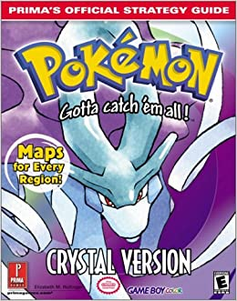 Guide pokemon book crystal