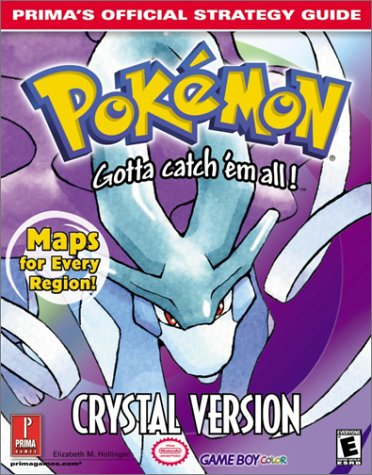 Pokemon: Crystal Version (Prima's Official Strategy Guide) (Strategy Guide Pokemon Red)