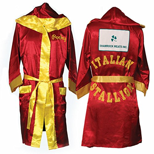 - Italian Stallion Red and Gold Rocky Robe