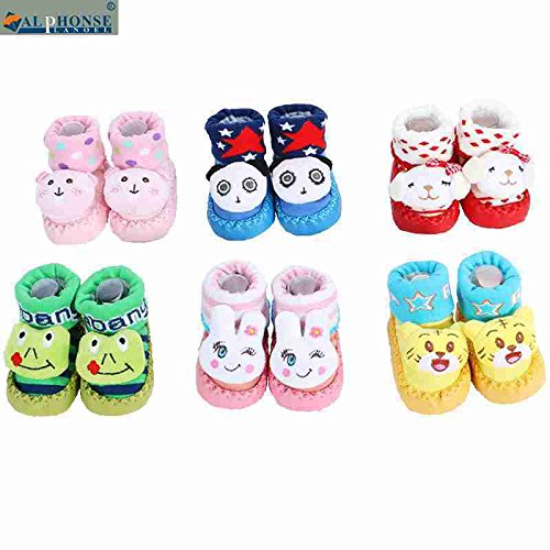 Pretty cute three-dimensional fruit bell men and women have children toddler soft bottom non-slip floor socks baby socks sets