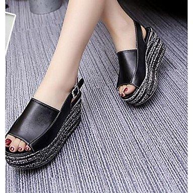 SHOES-XJIH&Uomini sandali sandali estivi Casual in pelle tacco piatto altri marrone / Khaki altri,marrone,US14 / EU48 / UK13 / CN51