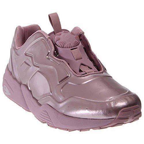 Puma Schijf 89 Metalen Heren Ronde Neus Synthetische Groene Sneakers Kristal Roze