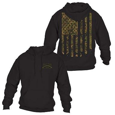 f699bb69 Amazon.com: Grunt Style Outdoors - Camo Flag Hoodie: Clothing