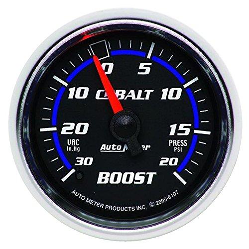 - Autometer Cobalt 52mm 20psi mechanical Boost Gauge (am6107)