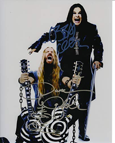 - Ozzy Osbourne and Zakk Wylde Autographed Signed 8x10 Photo Certified Authentic COA