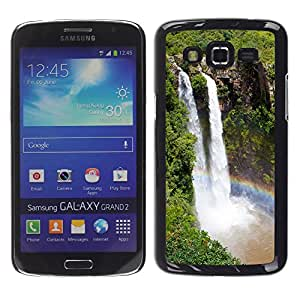 Paccase / SLIM PC / Aliminium Casa Carcasa Funda Case Cover - Waterfall Niagra Falls - Samsung Galaxy Grand 2 SM-G7102 SM-G7105