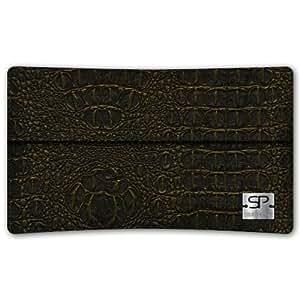SIMON PIKECáscara Funda de móvi NewYork 01 oro pour Sony Xperia L cuero artificial coco