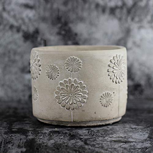 Nicole Cement Flowerpot Silicone Mold Pen Barrel Desktop Decoration Tool by nicole (Image #5)