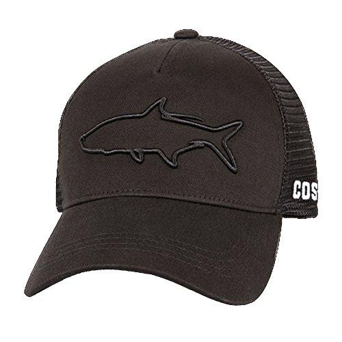 Costa Del Mar Stealth Tarpon Trucker Hat-Black ()