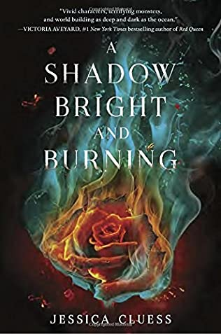 book cover of A Shadow Bright and Burning