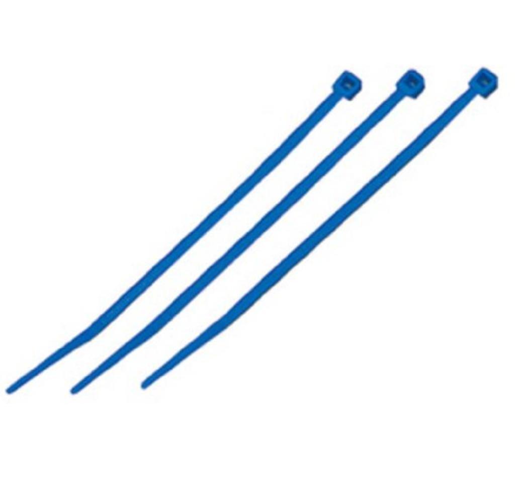 (まとめ)結束バンド ケーブルタイ(カラー) 【長さ250mm/100本入×10セット】 ブルー(青) マーベル MCT-250BE   B01HIJJ0YW