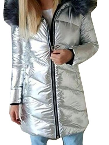 Forward Hooded Down Jacket silver M (Flash Down Jacket)